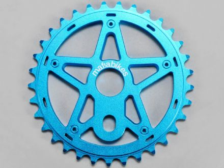 Mafia Gully Sprocket Blue 24T